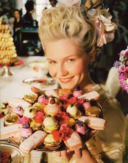 macarons marie antoinette