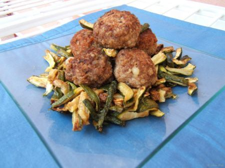 polpette con zucchine