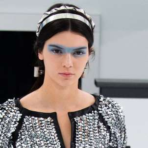 Make up occhi Azzurro Serenity per Chanel