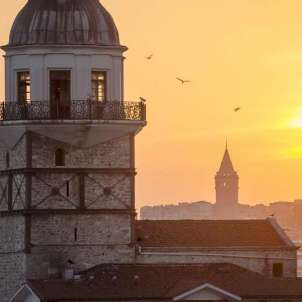 Istanbul tramonto