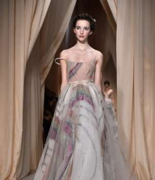 Long dress multicolor Valentino