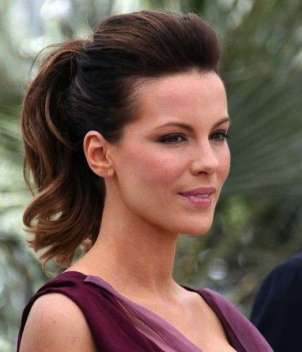 Coda alta con volume per Kate Beckinsale