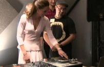 William e Kate Middleton dj in Australia [FOTO]