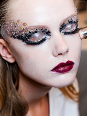 Trucco Carnevale 2013, idee make up chic e glamour [FOTO]