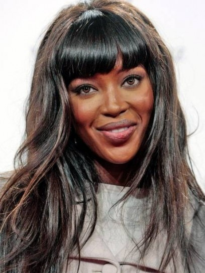 Naomi Campbell con extension