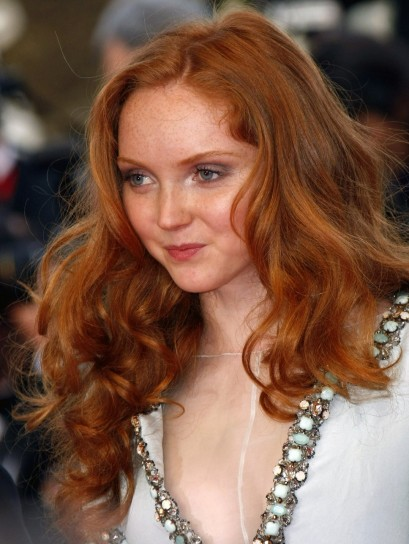 Capelli rossi Lily Cole