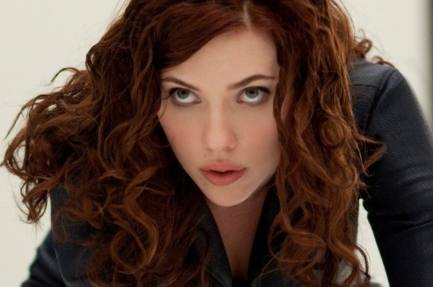 Capelli rossi Scarlet Johansson