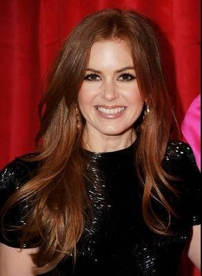 Capelli rossi Isla Fisher