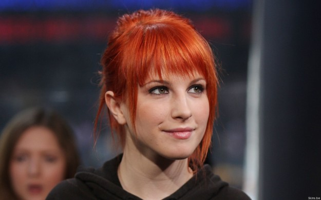 Capelli rossi Hayley Williams