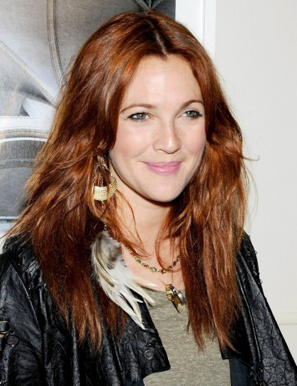 Capelli rossi Drew Barrymore