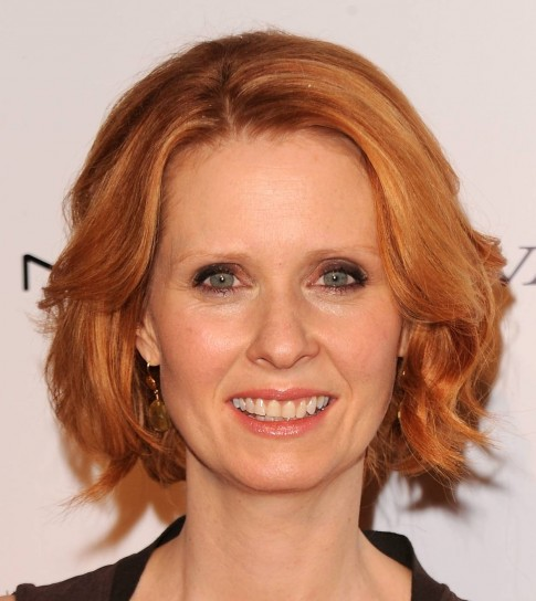Capelli rossi Cynthia Nixon
