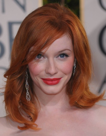 Capelli rossi Christina Hendricks