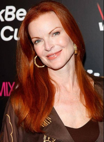 Capelli rossi Marcia Cross