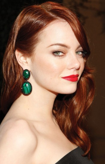 Emma Stone capelli rossi