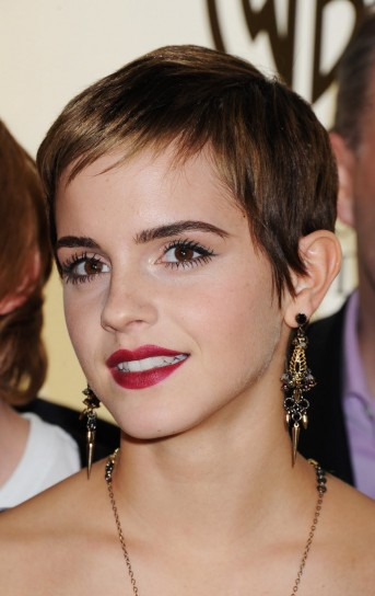 Emma Watson con la frangetta 