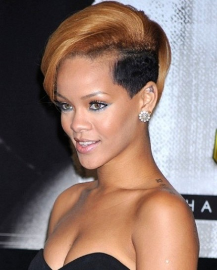 Capelli punk di Rihanna 