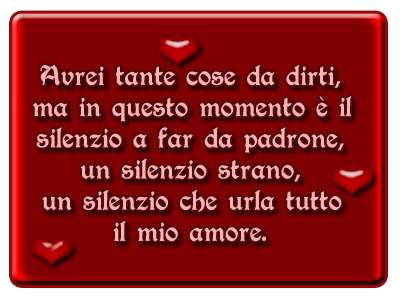 Frase d'amore poesia