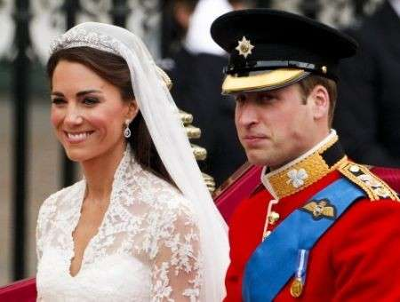 Principe William e Kate Middleton matrimonio