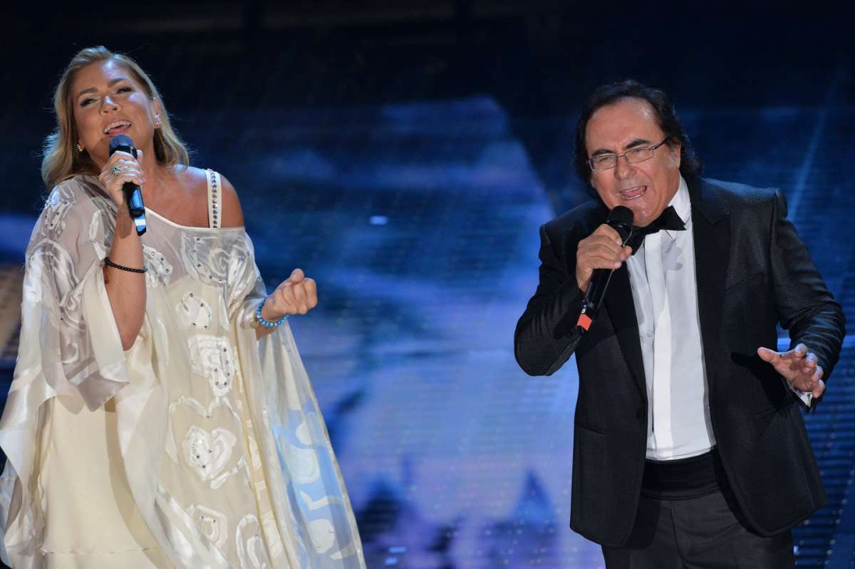 Al bano carrisi e romina power a sanremo 2015 foto for Al bano e romina power