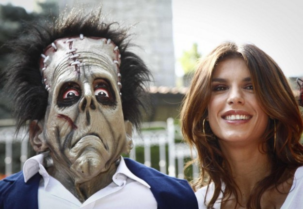 Elisabetta Canalis a Gardaland