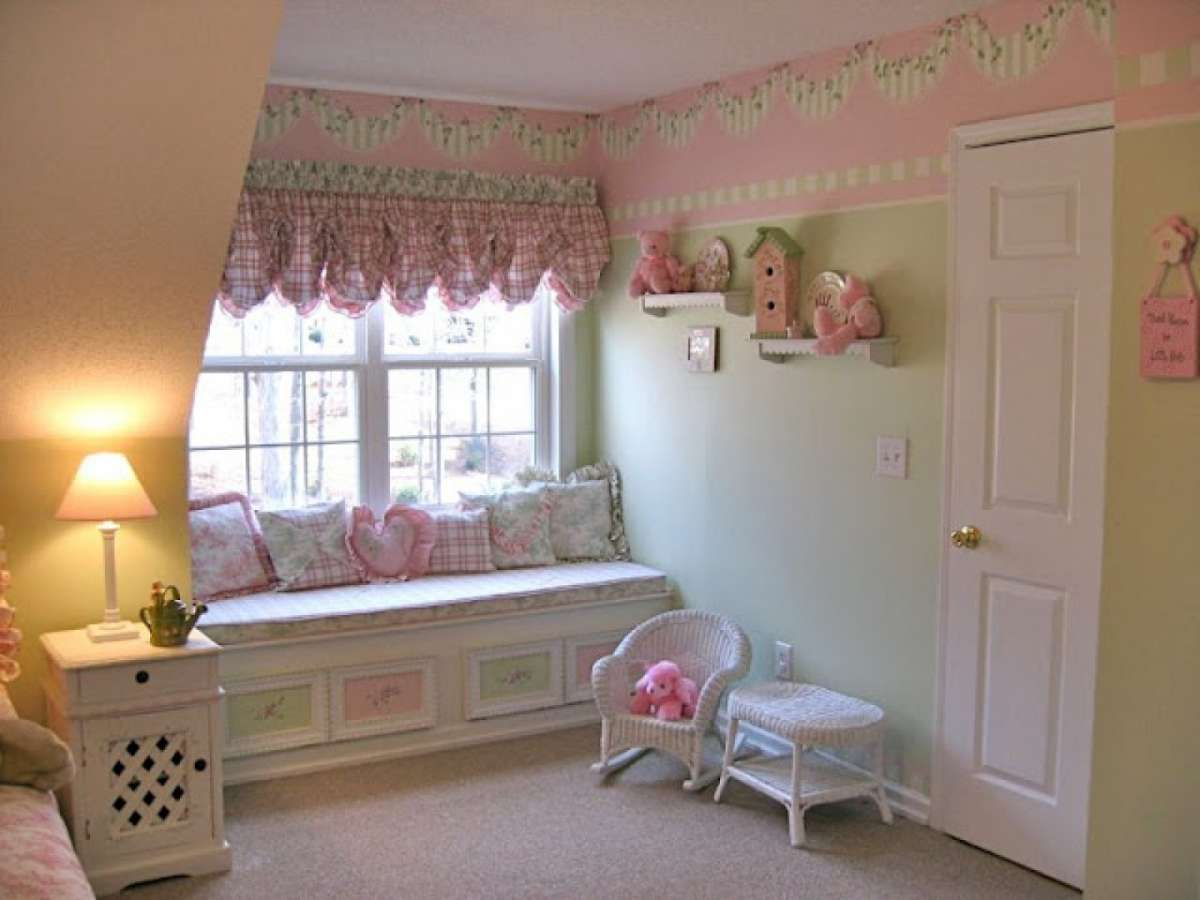 Camerette shabby chic per ragazze foto mamma pourfemme - Little girls shabby chic bedroom ...