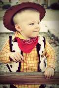 Costumi Halloween fai da te cow-boy