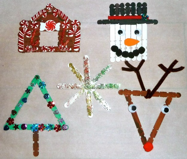 Lavoretti creativi natale foto 34 40 pourfemme for Christmas decorations to make for kids at home