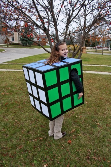 Cubo di Rubik per Carnevale
