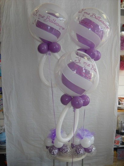 Come decorare la casa per un battesimo foto 3 40 pourfemme for Idee palloncini per battesimo