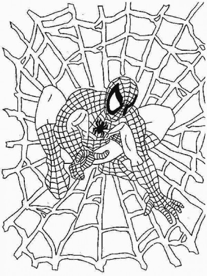 Disegni di spiderman da stampare e colorare foto 4 40 for Disegni da colorare e stampare di spiderman