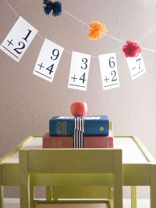 Decorazioni per la scuola idee fai da te foto pourfemme for Back to school decoration ideas for teachers