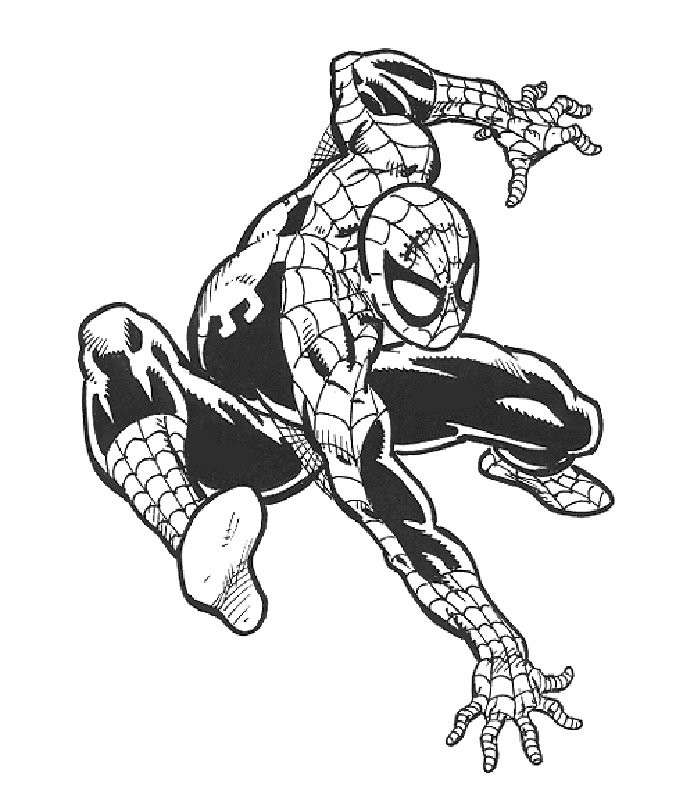 Disegni di spiderman da stampare e colorare foto 10 40 for Disegni da colorare e stampare di spiderman