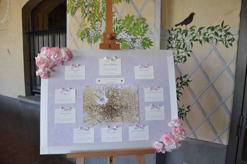 Preferenza Tableau di matrimonio: idee originali (Foto 2/37) | Matrimonio  QL84