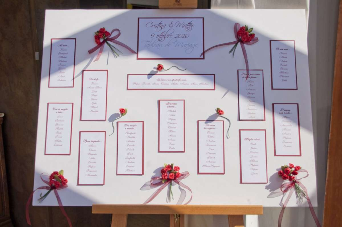 Top Tableau di matrimonio: idee originali (Foto 29/37) | Matrimonio  ED11