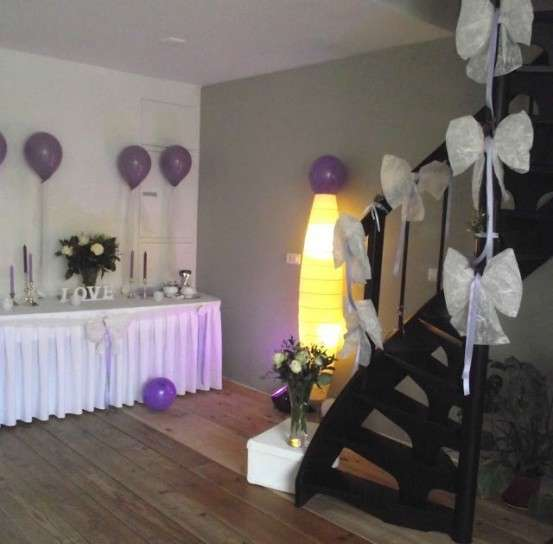 Idee per decorare la casa per un matrimonio foto for Come decorare una casa vittoriana