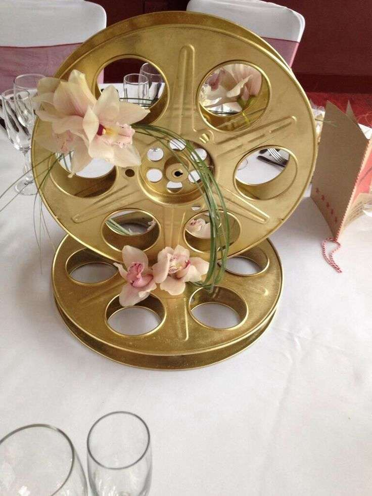 Matrimonio Tema Cinema : Decorazioni per il matrimonio a tema cinema foto