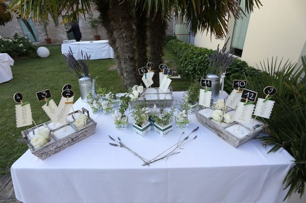 Matrimonio Country Chic Hotel : Allestimento buffet