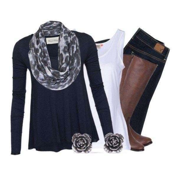 Look casual con riding boot