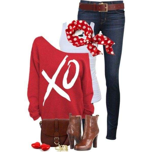Look pin up con jeans