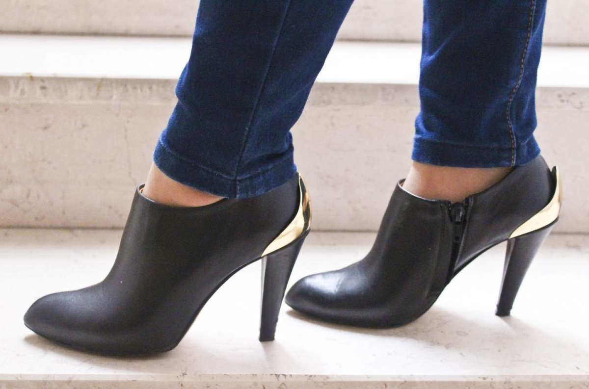 Ankle boot e jeans