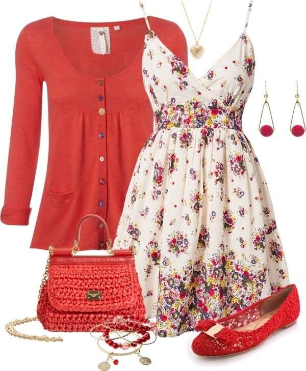 Minidress e accessori rossi
