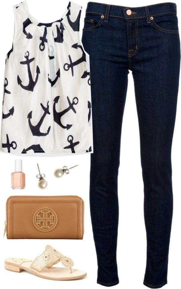 Look in stile nautical