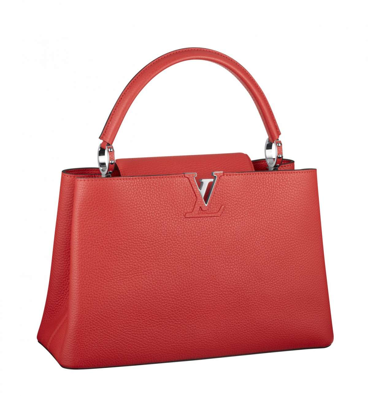 Handbag rossa Louis Vuitton
