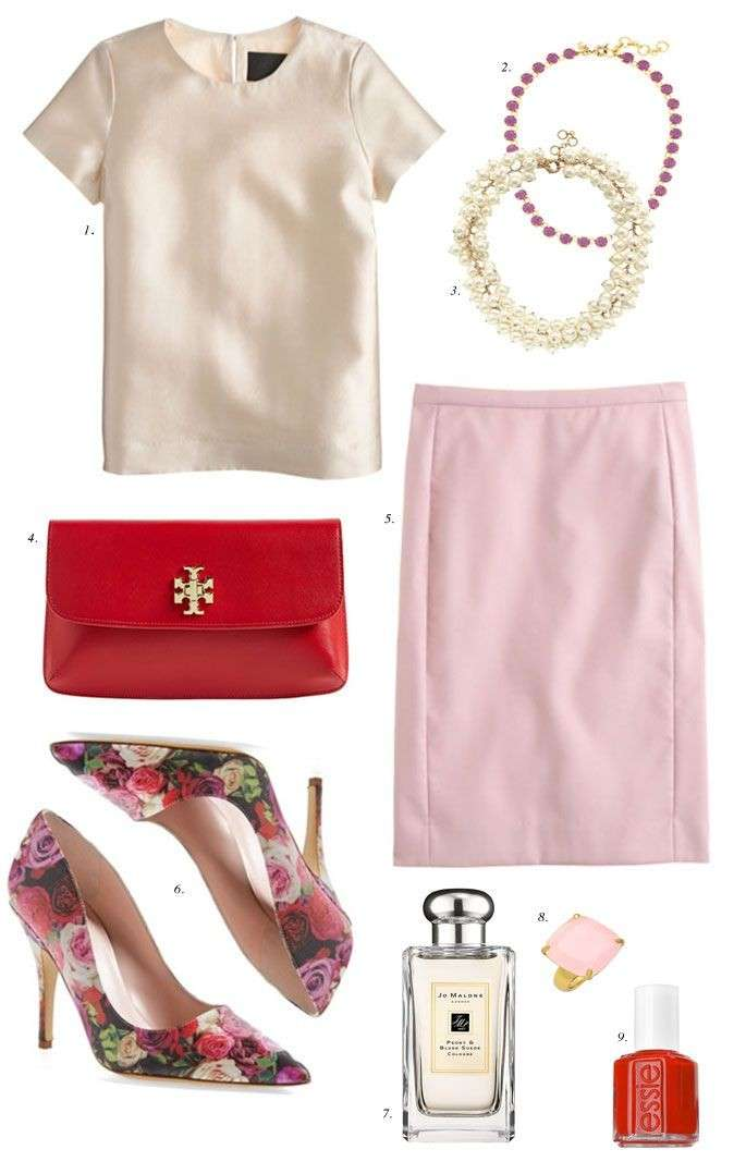 Look bon ton con accessori colorati