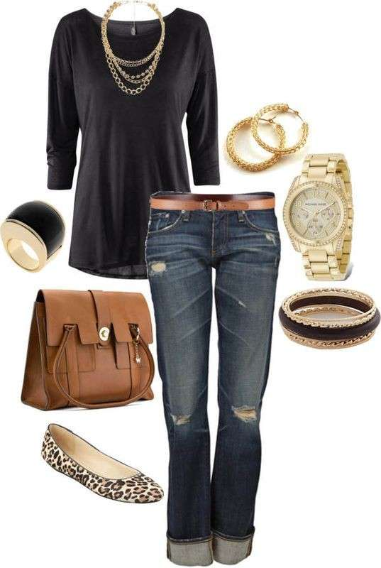 Look casual con accessori animalier