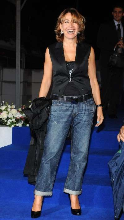 Denim look per Barbara D'Urso