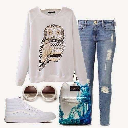 Look sporty chic pastello