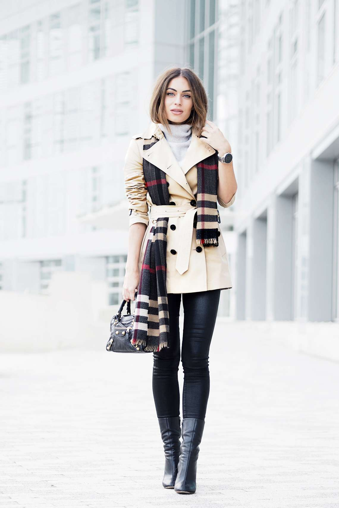 Look con trench