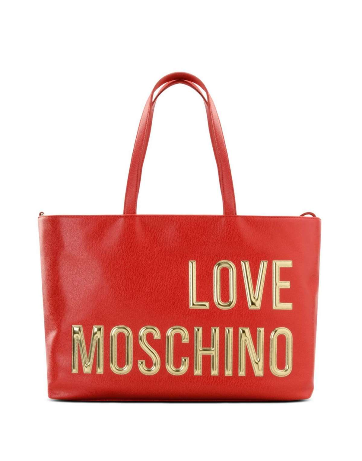 Shopper rossa Love Moschino
