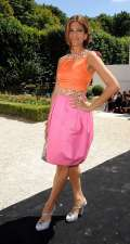 Look in color block secondo Eva Mendes
